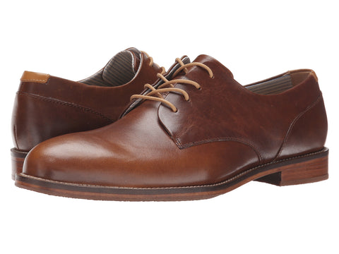 J Shoes - Men's William Plus Plain Toe Oxford - Seaside Soles