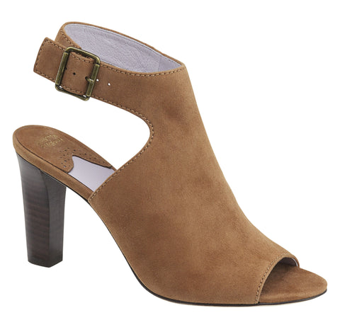 Johnston & Murphy - Brianna High Heel in Camel - Seaside Soles