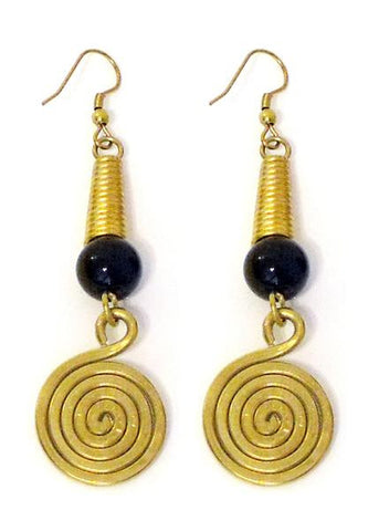 Le Unita - Kombo Black Earrings - Seaside Soles