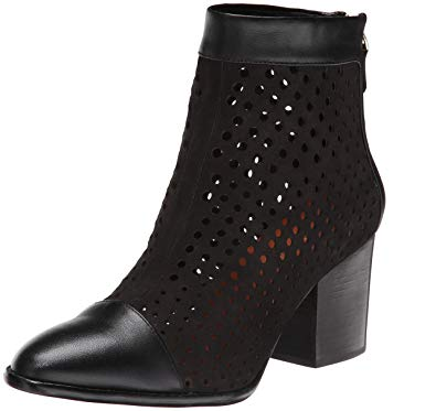 Rebecca-Minkoff-Bedford-Black-Perforated-Leather-Ankle-Boot-block-heel-seaside-soles