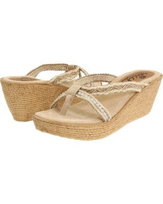 Sbicca - Luxury Wedge Sandal - Seaside Soles
