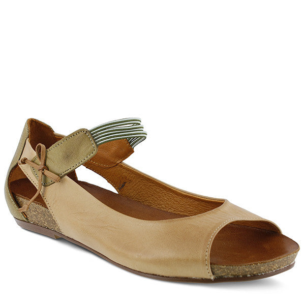 Spring Step - Aside Sandal - Seaside Soles