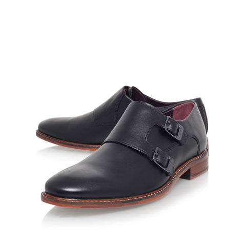 Ted Baker - Kartor 3 Double Monk Strap Buckled Oxford - Seaside Soles