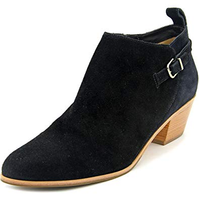 Via Spiga Caylin Black Suede Ankle Boot