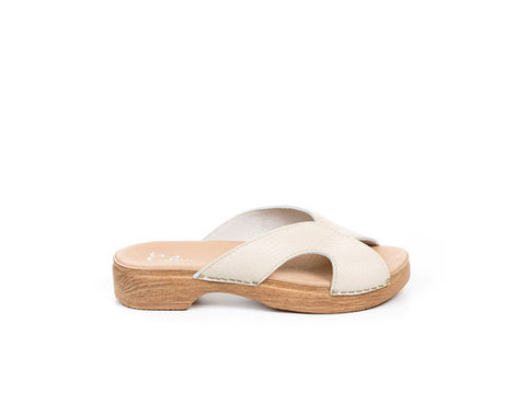 Calou - Lisbeth Off-White Sandal - Seaside Soles