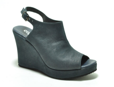 Cordani - Wellesley Wedge Sandal Blue Night - Seaside Soles