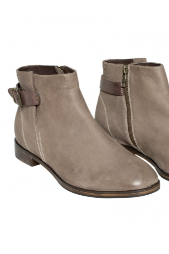 Elk - Spanne Half Boot in Steel - Seaside Soles