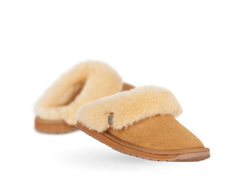 Emu Australia - Platinum Eden Slipper in Chestnut - Seaside Soles