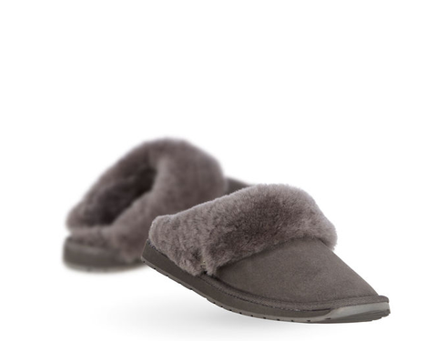 Emu Australia - Platinum Eden Slipper in Charcoal - Seaside Soles
