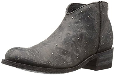 Five Worlds by Cordani - Western Ankle Boot in Black
