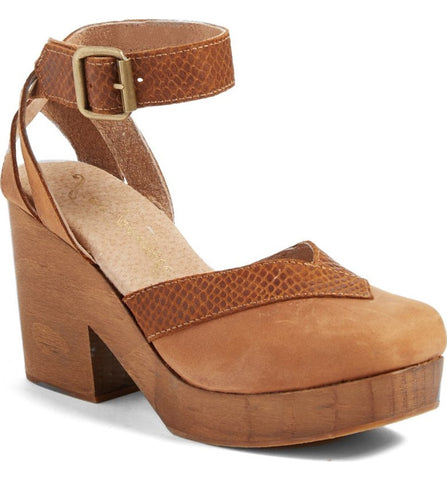 Free People - Clog Walk this Way Brown - Seaside Soles