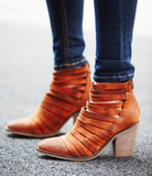 Free People - Hybrid Strappy Heel Boot - Seaside Soles