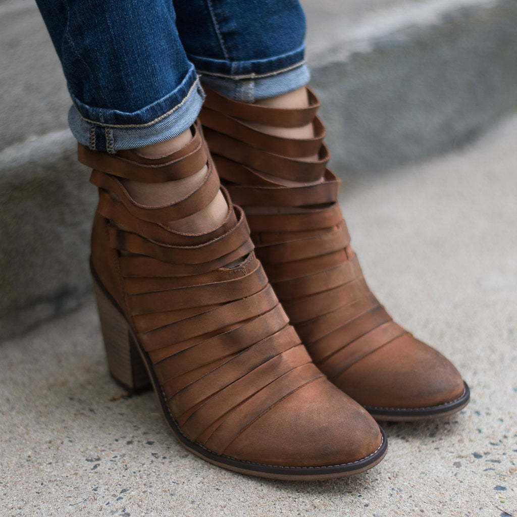 Free People - Hybrid Strappy Heel Boot
