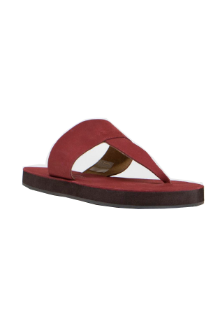 Free People - Waterfront Sandal in Red - Seaside Soles