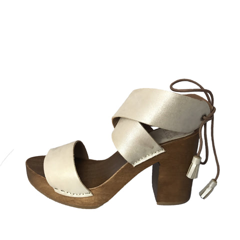 Huma Blanco Elisea Heeled Sandal Seaside Soles Womens Shoes