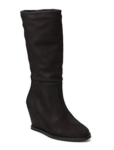 Ivylee Jade Leather Wedge Boots - Seaside Soles