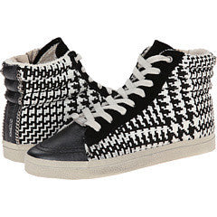 KIM & ZOZI - Plaid High Top Sneakers - Seaside Soles