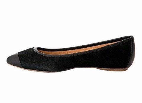 Klub Nico - Grace Calf Hair Ballet Flat - Seaside Soles
