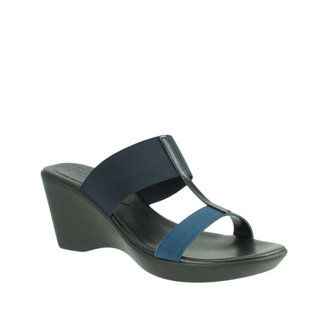 Rapisardi/Ron White - Chasti Wedge Sandal - Seaside Soles