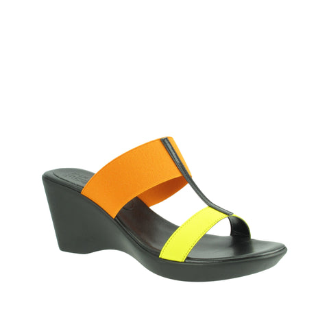Rapisardi Ron White - Chasti Vegan Sandals in Lemon - Seaside Soles