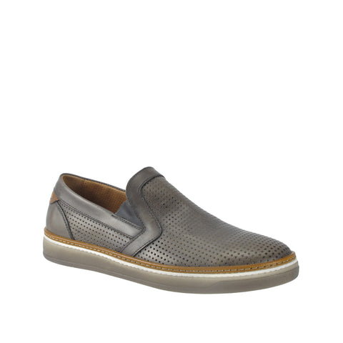 Ron White - Men's Josh Perf Slate Slip-on Sneaker - Seaside Soles