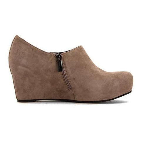 Sacha London - Virgo Platform Bootie in Taupe - Seaside Soles