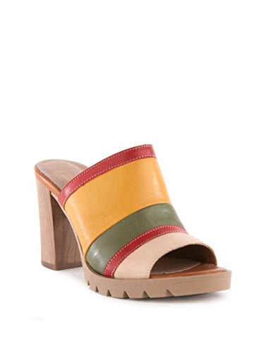 Sey - Tantalize Slip-On Block Heel Sandal - Seaside Soles
