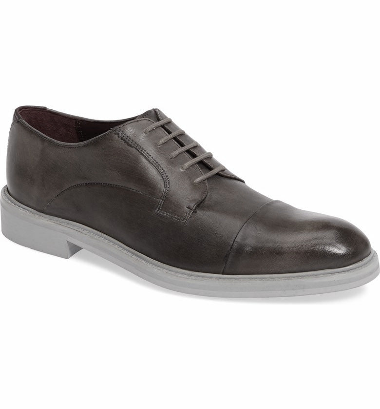 Ted Baker - Aokii 2 Toe Cap Leather Derby Shoes - Seaside Soles