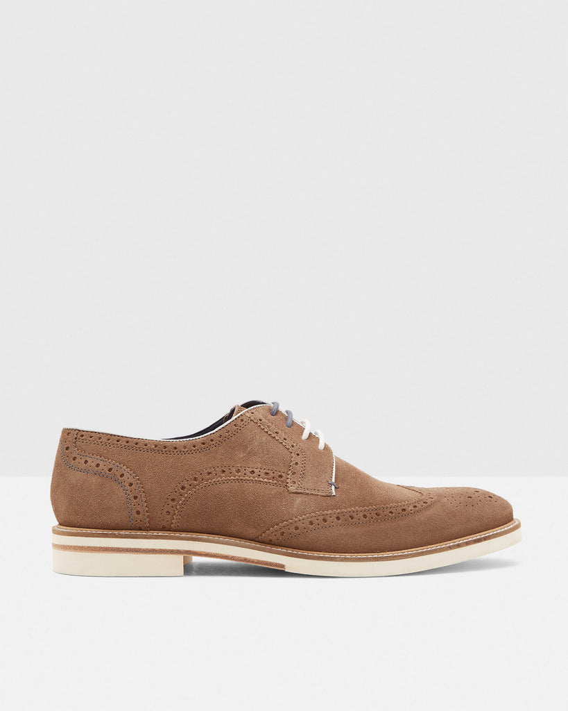 Ted Baker - Archer2 Men's Suede Brogues - Seaside Soles