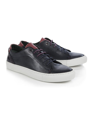 Ted Baker - Kiing Sneaker Dark Blue - Seaside Soles