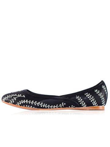 Ticket to Timbuktu - Drupe Ballet Flat - Seaside Soles
