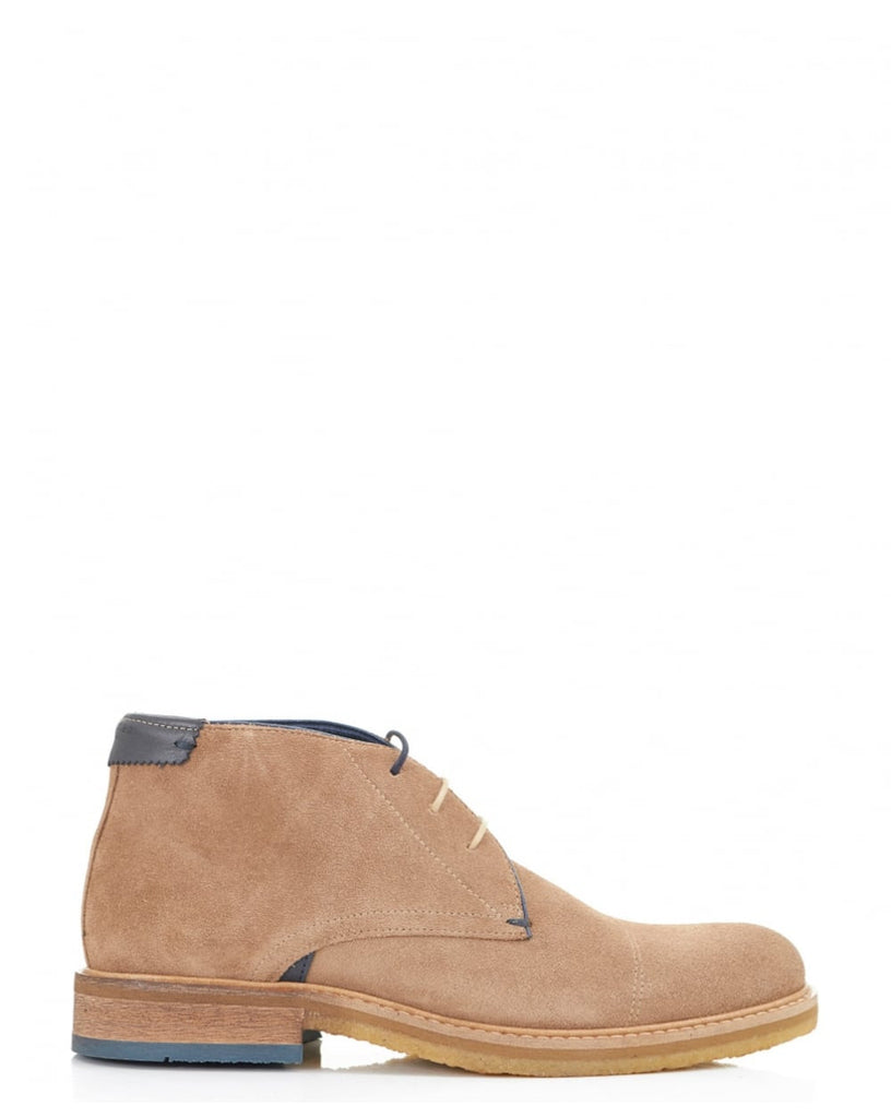 Ted Baker - Tomlin Chukka Boot Light Tan - Seaside Soles