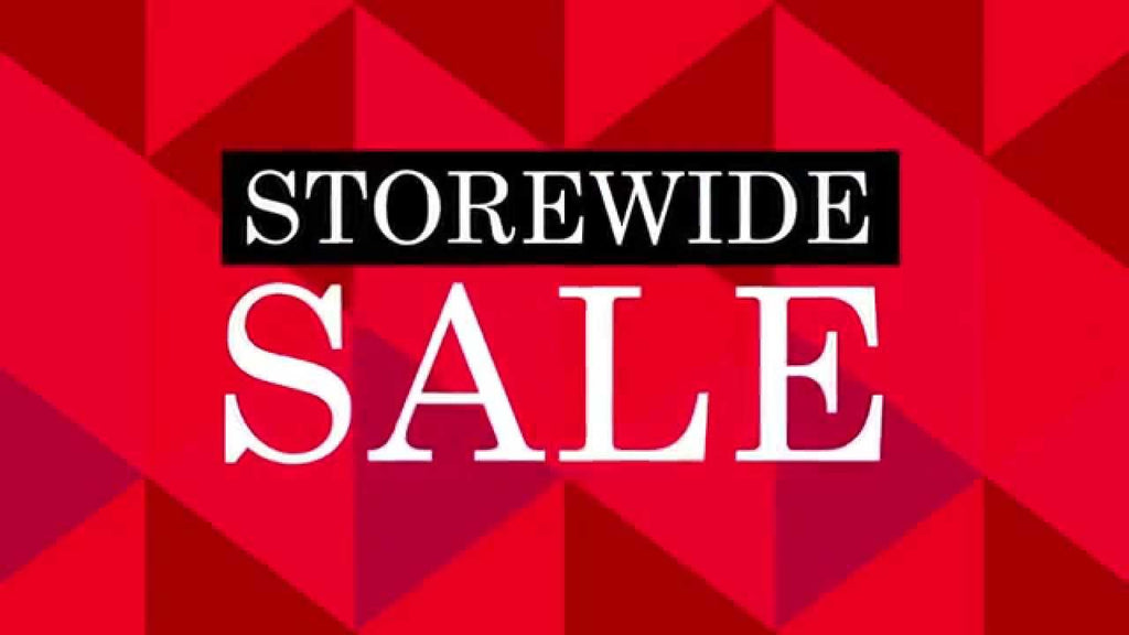 Storewide Sale 70% off