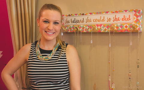 Owner Lauren Rubbelke at The Colette Collection's Sneak Peek Event