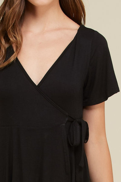 Skorting the Black Romper