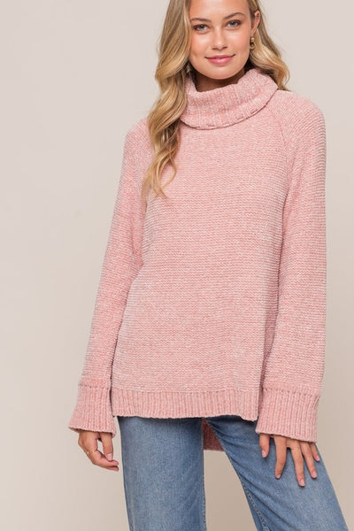 Babe in Blush Sweater