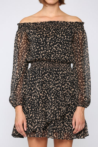 Life is Better in Leopard Dress