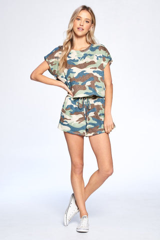 Camo 2-piece lounge set