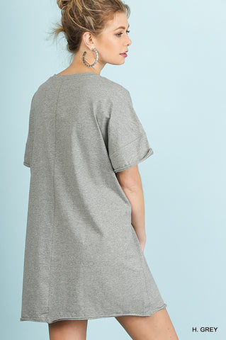 To A Tee T-shirt Dress