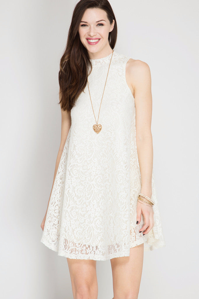 Lacey Swing Dress