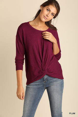Perfect in Plum Sweater