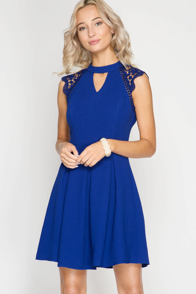 Royalty Blue Dress