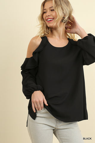 Pretty in Puffed Sleeves Top