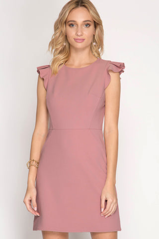 Pink and Ruffles Dress