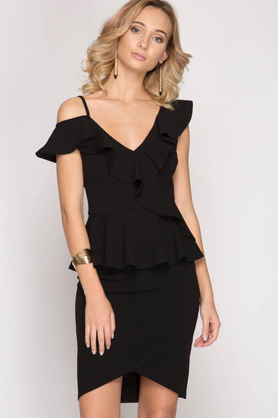 City Chic Black Top