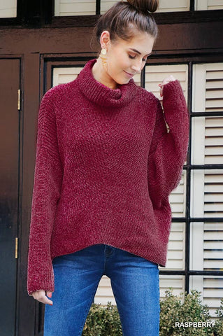 Rad in Raspberry Sweater
