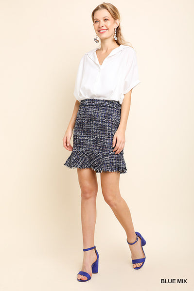 Totally Tweed Skirt