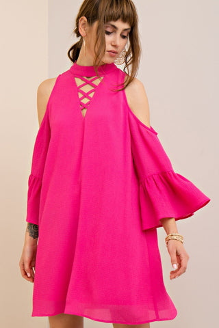 All the Trends Pink Dress