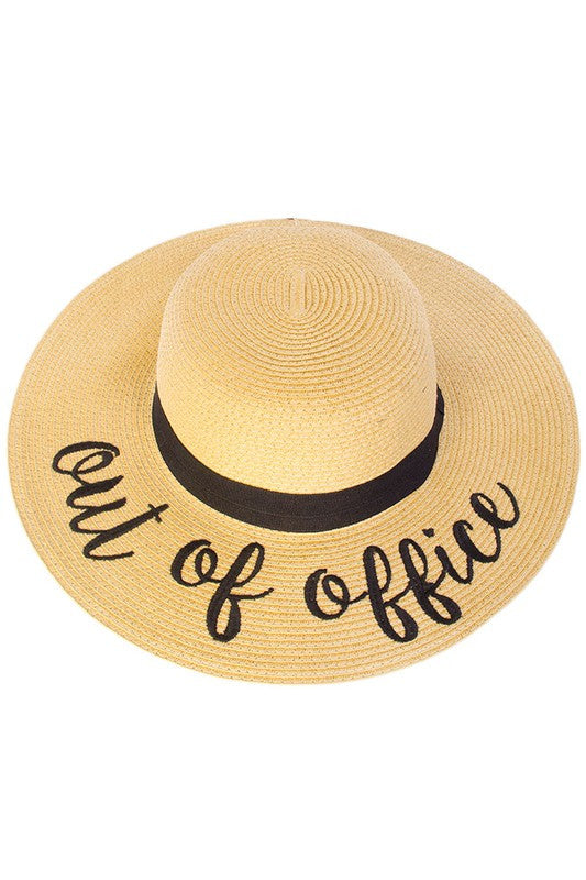 Out Of Office Sun Hat