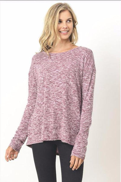 Wine About it Long Sleeve Top
